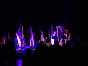 Concert de harpes contemporaines à Beauvais (60) et Amiens (80)