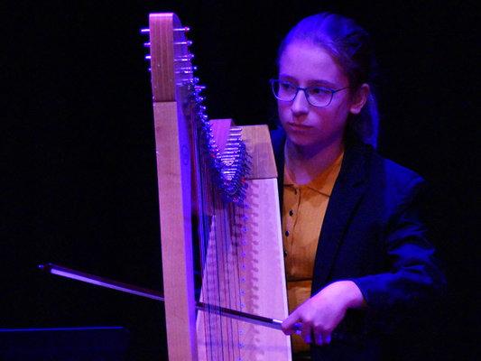 Concert Harpes au Présent à Amiens et Beauvais avec l'EMION