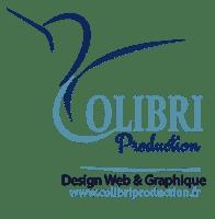 logo design web colibri production